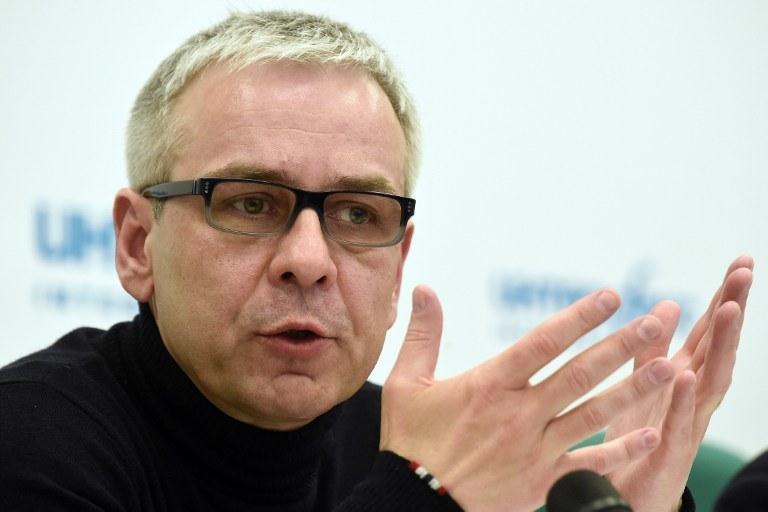 Dmitrij Kowtun jest jednym z podejrzanych o zabójstwo Litwinienki /DMITRY SEREBRYAKOV / AFP /AFP