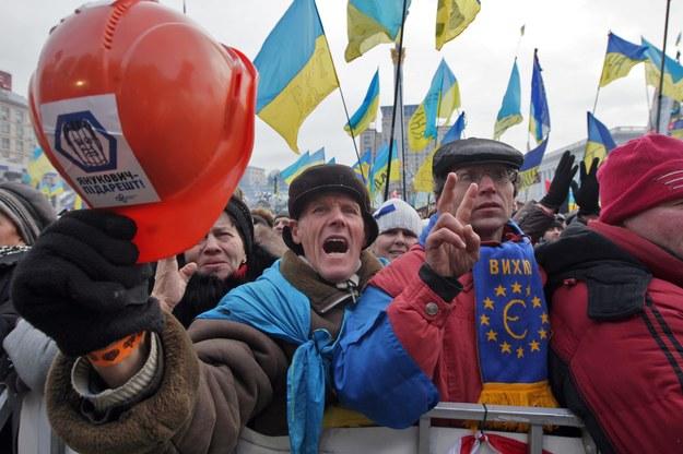 """Do 200 tys. ludzi na akcji """"Dzień Godności"""" w Kijowie"""