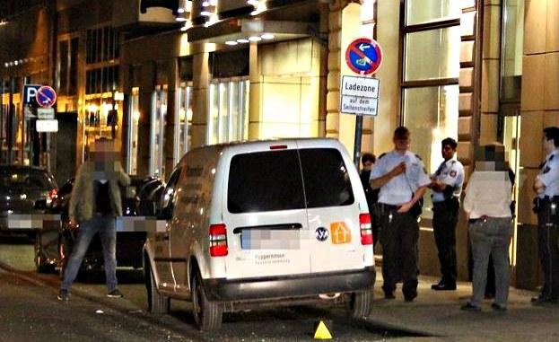 Do ataku doszło dziś rano w Kolonii, fot. Express /