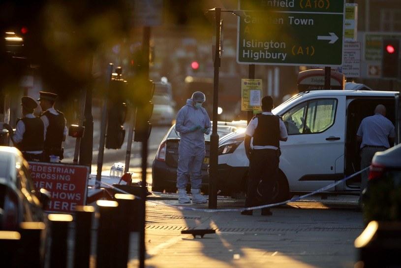 Do ataku doszło przed jednym z londyńskich meczetów /AFP