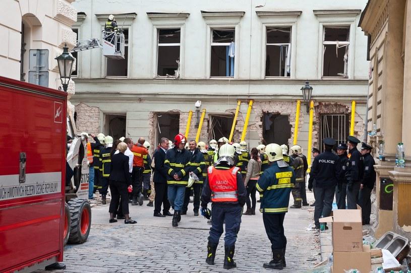 Do eksplozji doszło w centrum miasta /PAP/EPA