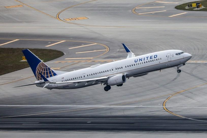 Do incydentu doszło na pokładzie samolotu linii United Airlines /Michał Adamowski /Reporter