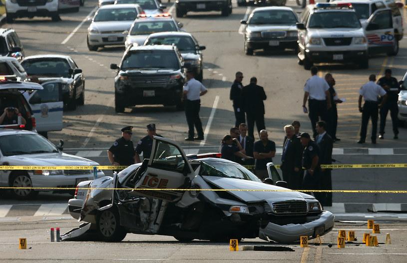 Do incydentu doszło trzy tygodnie po strzelaninie w bazie marynarki wojennej Navy Yard w Waszyngtonie /AFP