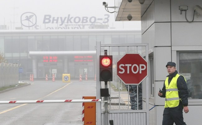 Do katastrofy doszło na lotnisku Wnukowo /YURI KOCHETKOV /PAP/EPA