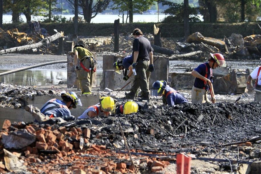 Do katastrofy doszło w ubiegłą sobotę /SQ  /PAP/EPA