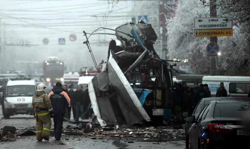 Do kolejnego wybuchu doszło w Wołgogradzie /AFP
