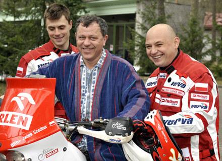 Do Leśnej Góry zawitali motocykliści rajdowi fot.D.Gałązka /AKPA