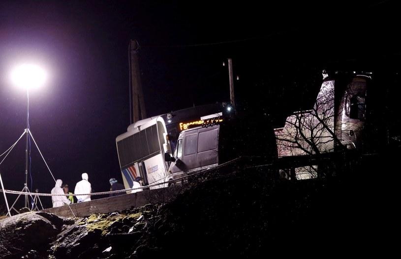 Do morderstwa doszło w górskim rejonie na drodze z Oslo do Aardalstangen /PAP/EPA