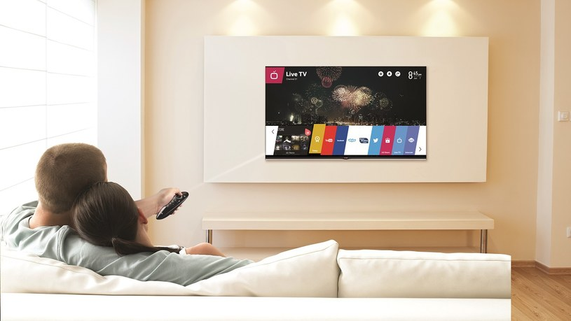 Do Polski trafiły nowe telewizory LG z systemem WebOS, czyli nową generacją Smart TV /materiały prasowe