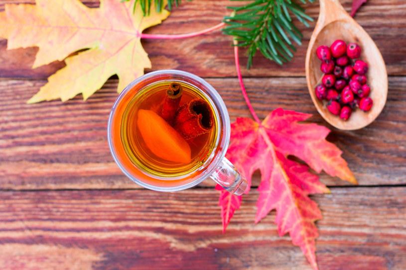 Do repertuaru jesiennych herbatek włącz napar z głogu /123RF/PICSEL