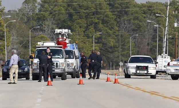 Do strzelaniny doszło na terenie kampusu college'u Lone Star koło Houston/fot. Aaron M. Sprecher /PAP/EPA