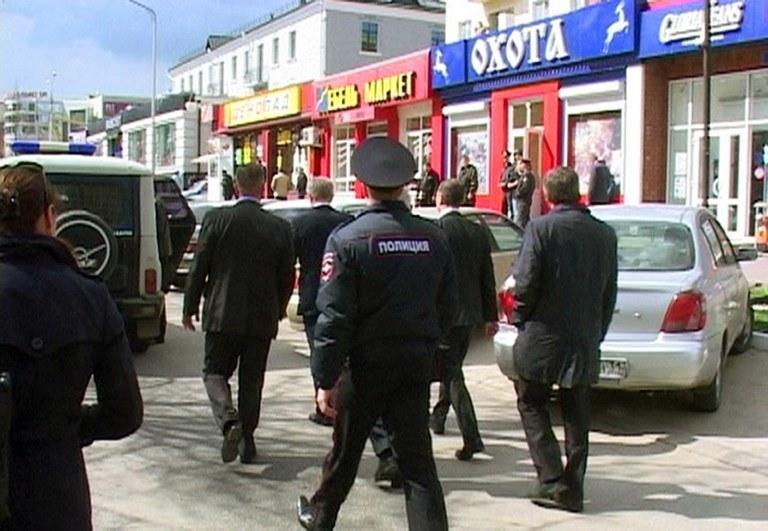Do strzelaniny doszło w Biełgorodzie /AFP