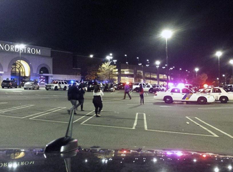Do strzelaniny doszło w okolicy centrum handlowym Garden State Plaza Mall /PAP/EPA