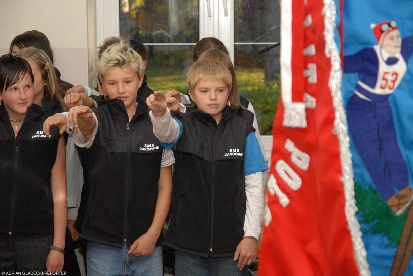 Do Szkoły Mistrzostwa Sportowego chodził między innymi skoczek Klimek Muranka (zdjęcie archiwalne) /Adrian Gładecki /Reporter