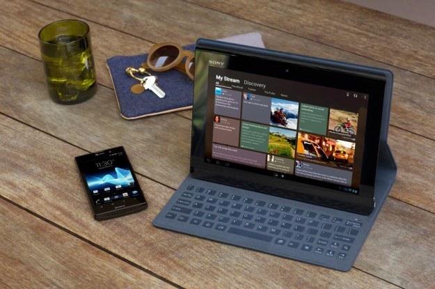 Do tabletu Sony będzie można dokupić etui z fizyczną klawiaturą /materiały prasowe