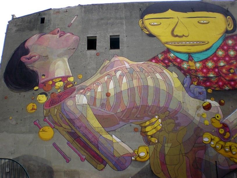 Do tej pory w mieście powstało 36 murali /ANDRZEJ ZBRANIECKI /East News