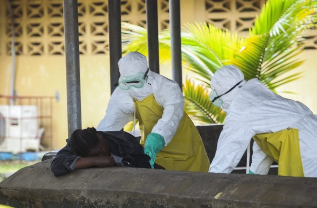 Do tej pory z powodu zarażenia wirusem Ebola zmarło 1229 osób /AHMED JALLANZO  /PAP/EPA