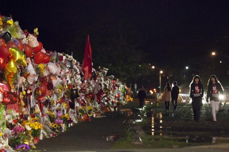 Do tragedii doszło w amerykańskiej szkole średniej w Marysville /AFP