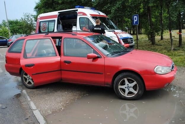Do tragedii doszło w tym samochodzie /Policja