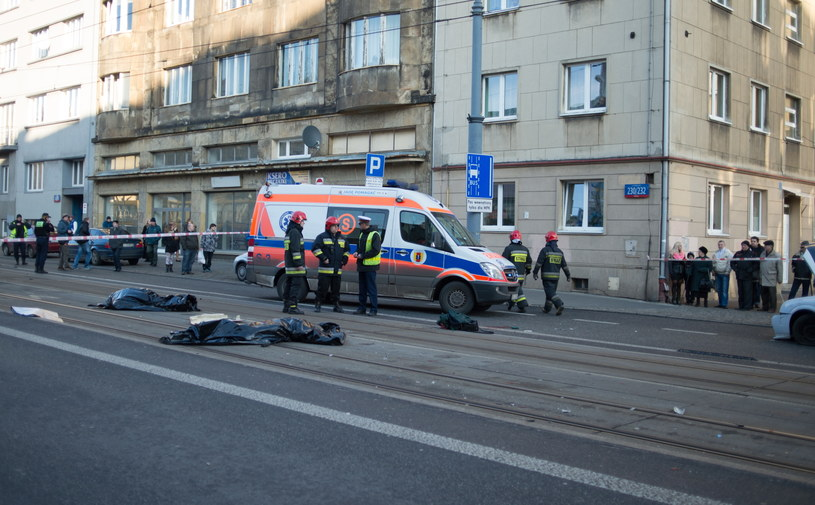 Do tragicznego wypadku doszło w Łodzi /Grzegorz Michałowski /PAP