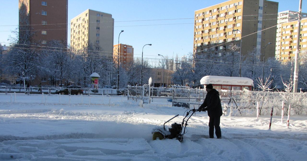 Do Warszawy wróciła zima