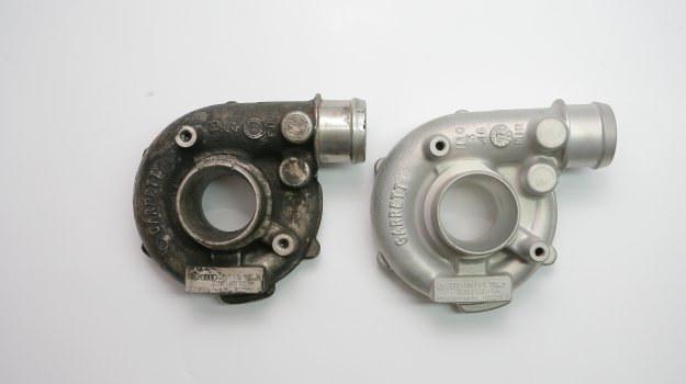 Do większości turbosprężarek dostępne są zamienniki podzespołów wymienianych podczas regeneracji. /Motor