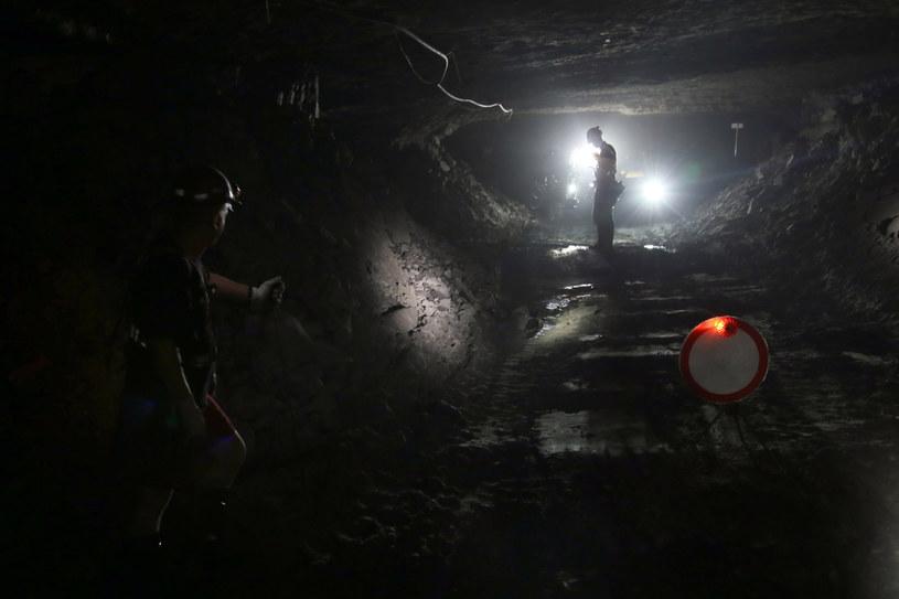 Do wstrząsu doszło w kopalni Rudna /Joanna Borowska /Agencja FORUM