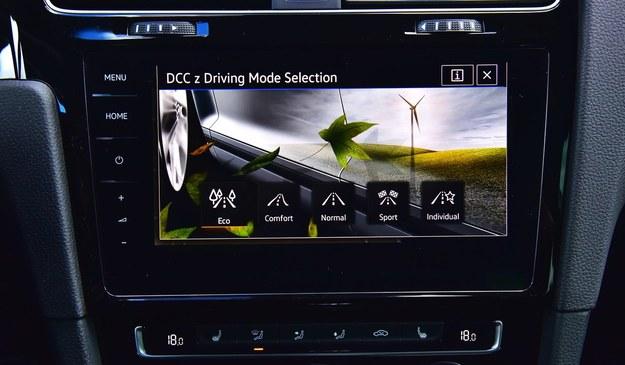 """Do wyboru jest pięć trybów jazdy. W Eco po puszczeniu gazu skrzynia przechodzi na """"luz"""". /Motor"""