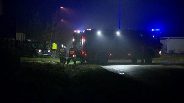 Do wypadku doszło koło Otwocka /TVN24/x-news