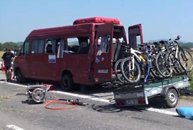 Do wypadku doszło na Słowacji /RegionVT.sk /YouTube