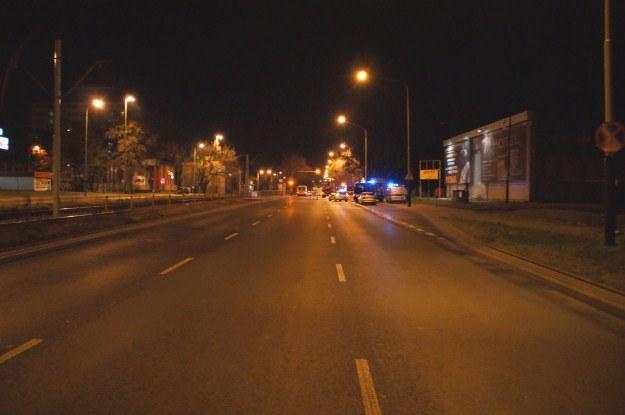 Do wypadku doszło na szerokiej, prostej drodze, w środku nocy /Policja