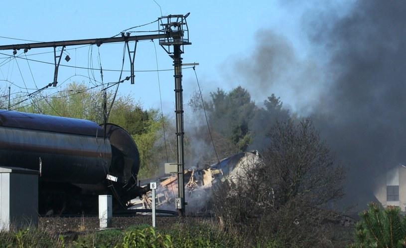 Do wypadku doszło niedaleko Gandawy /PAP/EPA