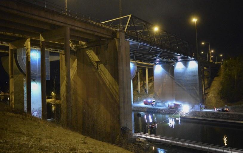 Do wypadku doszło ok. 2 nad ranem /JOHAN NILSSON /PAP/EPA