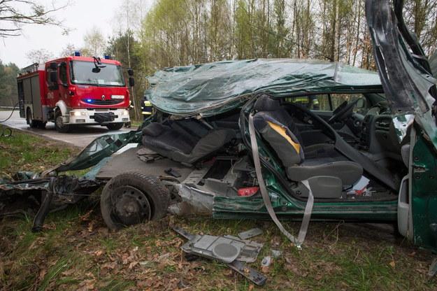 Do wypadku doszło w miejscowości /Tytus Żmijewski /PAP