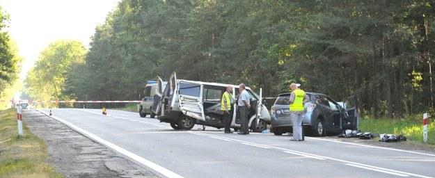 Do wypadku doszło wcześnie rano na prostej drodze /PAP
