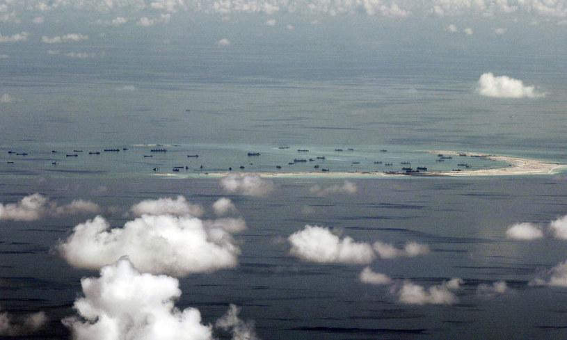 Do zajętego przez Chiny archipelagu Spratly zgłaszają roszczenia Wietnam, Malezja i Brunei. /AFP