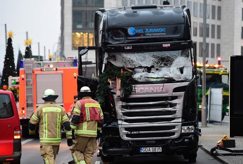 Do zamachu doszło w Berlinie /AFP