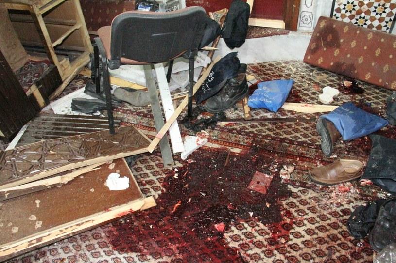 Do zamachu doszło w Damaszku /PAP/EPA