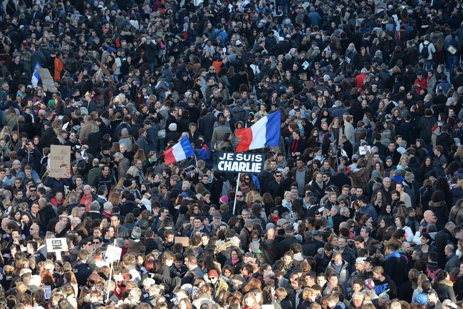 Do zamachu miało dojść podczas manifestacji przeciwko terroryzmowi / CAROLINE BLUMBERG    /PAP/EPA