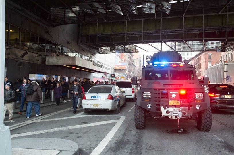 Do zdarzenia doszło na stacji Port Authority /AFP