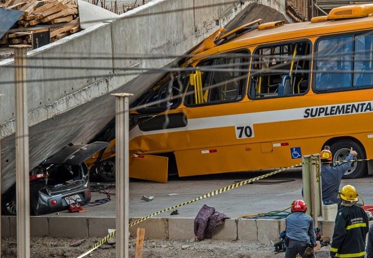 Do zdarzenia doszło w mieście Belo Horizonte /AFP