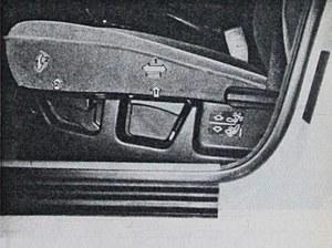 Dobra pozycja za kierownicą to podstawa przyjemności z podróży. Dopasowanie fotela wg życzenia kierowcy umożliwia aż kilka dźwigni. /Motor