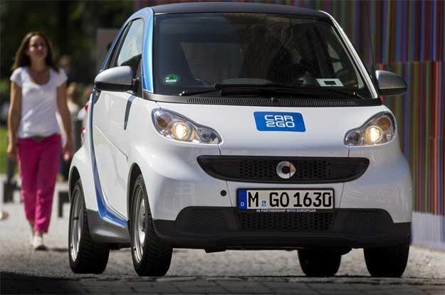 Dobrym przykładem jest tu inicjatywa car2go /