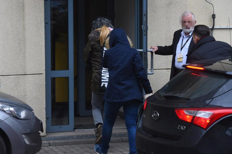 Doda doprowadzona do prokuratury /Mateusz Jagielski /East News