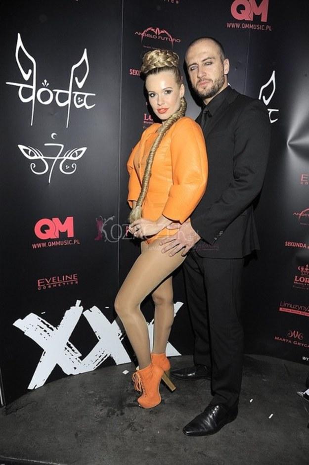 Doda,  na premierze klipu XXX