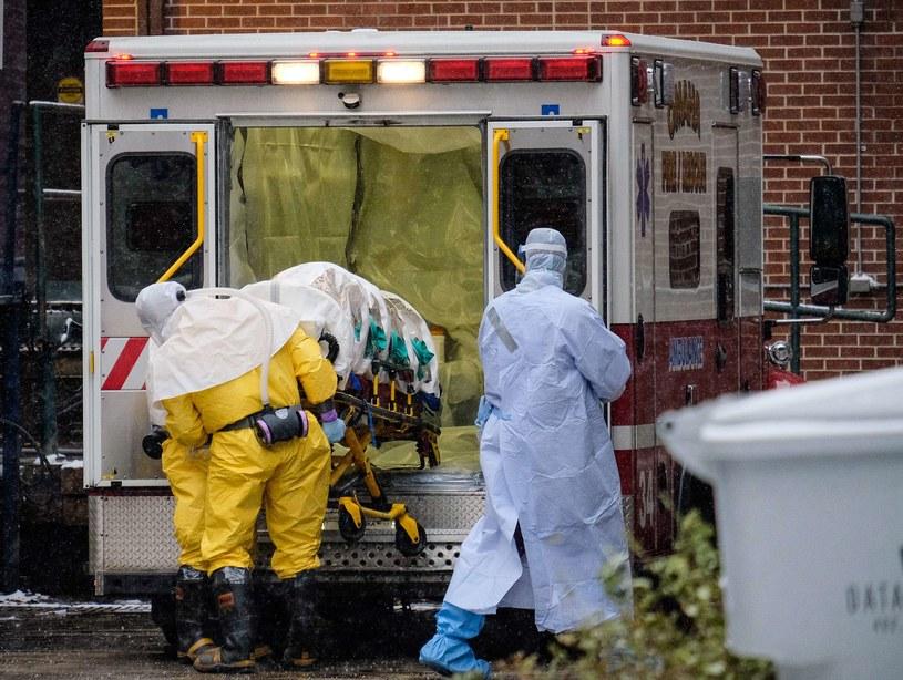 Doktor Martin Salia jest drugim pacjentem, który umiera na ebolę w amerykańskim szpitalu /AFP