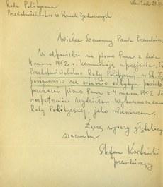 Dokumenty polskich władz emigracyjnych