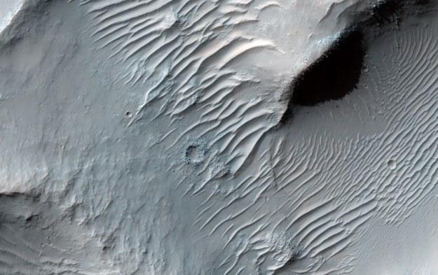 Doliny na Marsie /NASA