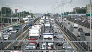 Dolnośląskie: Kilkukilometrowy korek przed Wrocławiem na autostradzie A4