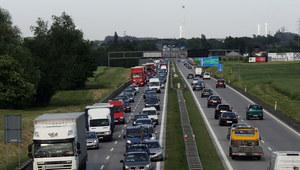 Dolnośląskie: Wypadek na autostradzie. A4 zablokowana